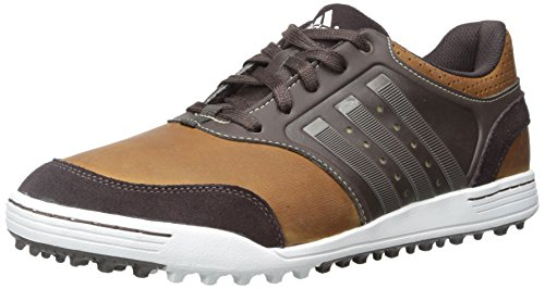 adidas Golf Men's adicross III Tan Brown/Scout Metallic/Tour White Sneaker 9 D - Medium