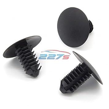 VVO - Pinzas de plástico para árbol de abeto, 7 mm, 20 mm, color negro: Amazon.es: Coche y moto
