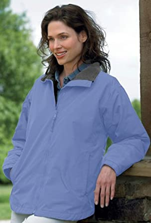 Women's Nylon Jacket with Fleece Lining (up to size 4X) at Amazon ...