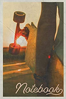 Descargar gratis Notebook: Longboard Convenient Composition Book Journal Diary For Men, Women, Teen & Kids Vintage Retro Design Skateboard Party Epub