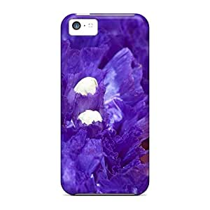 High Grade 88caseme Cases For Iphone 5c - Purple And Gold Place