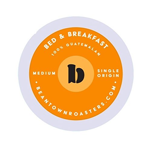 50 Count Breakfast Blend Beantown Roasters, Single-serve Coffee for Keurig K-cup Brewers White Breakfast Cup