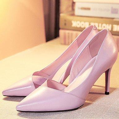LvYuan Aiguille Cuir cm Eté Talon Chaussures Blanc Femme Rose pink ggx 5 Noir 7 blushing à à Printemps Talons rwAxzrRqX