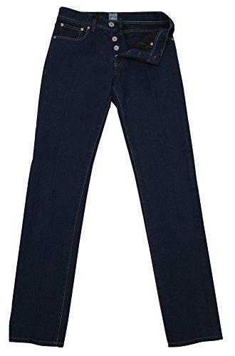 new-cesare-attolini-navy-blue-jeans-slim-30-46