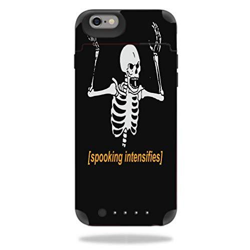 Spooking Intensifies Skeleton Juice Pack Reserve iPhone 6 6S Vinyl Decal Sticker Skin (Reserve Skeleton)