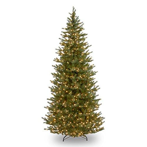 National Tree 7.5 Foot Norway Spruce Slim Tree