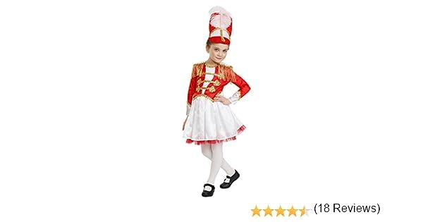 Dress Up America Niñas Fantasía Tambor Majorette Disfraz niñas ...
