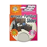 Master Caster - 2 Pack - Mighty Mighty Movers Reusable Furniture Sliders Round 5