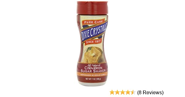 Amazon.com : Dixie Crystals Cinnamon Sugar Shaker, 7-Ounce (Pack of 6) : Raw Sugar : Grocery & Gourmet Food