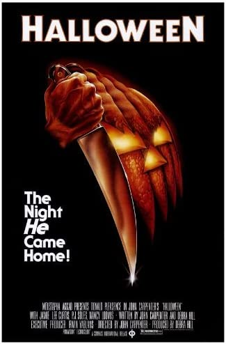 Halloween Movie Poster (27 x 40 Inches , 69cm x 102cm) (1978) ,(Jamie Lee  Curtis)(Donald Pleasence)(Nancy Loomis)(PJ Soles)(Charles Cyphers)(Kyle