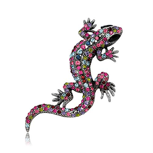en Lizard Animal Shape Fashion Jewelry Brooch Pin ()