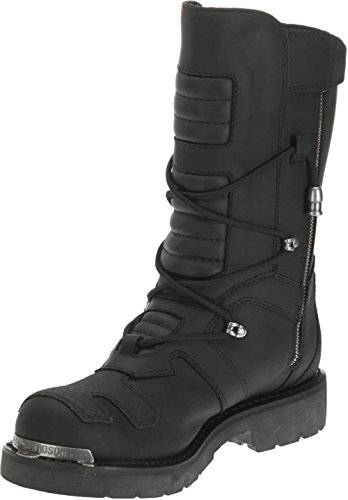 Davidson Boots Harley Boots Axel Mens Mens Harley Harley Long Axel Leather Black Black Davidson Davidson Leather Long ZwvqA8wRx