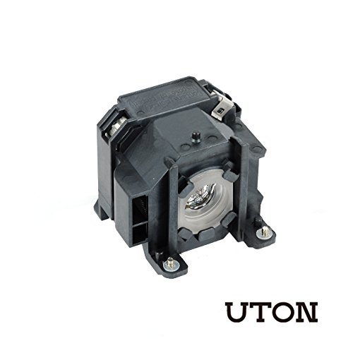Projector 1715 Lamp - Uton for ELPLP38 Replacement Projector Lamp for EPSON EMP-1700 EMP-1705 EMP-1707 EMP-1710 EMP-1715 EMP-1717 EX100 PowerLite 1700c PowerLite 1705c PowerLite 1710c PowerLite 1715c Projectors