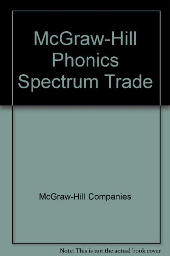 McGraw-Hill Phonics Spectrum Trade [Hardcover] by McGraw-Hill Companies