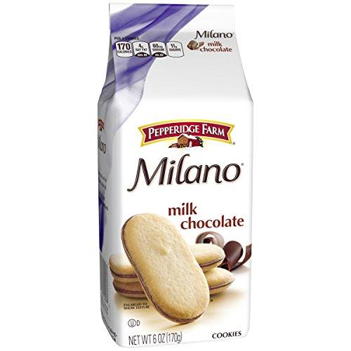 (Pepperidge Farm, Milano, Cookies, Milk Chocolate, 6 oz, Bag)