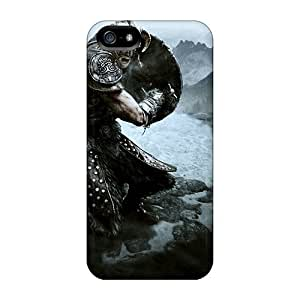 Tough Iphone IgE4479PTyk Cases Covers/ Cases For Iphone 5/5s(skyrim)