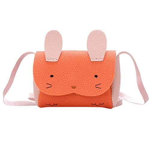 Lelili Children Fashion Lovely Kindergarten Schoolbag Cartoon Backpack Cute Princess Mini Rabbit Crossbody Shoulder Bag -
