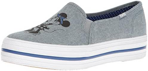 Keds Women's Triple Decker Minnie Chambray Fashion Sneaker