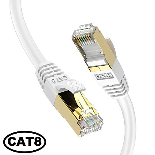 Cable Red Cat8 40GBPS 2000MHZ 1x10mt BOKIE -82VWK2B8