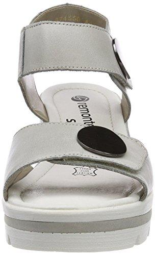 Sandales Remonte Bleu Cheville Femme D1565 Whitelightblue Bride ffUqZaH7