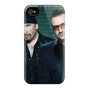 Funnylife4 Cases Covers Protector Specially Made For Iphone 6plus Celebrities U2 Rock Band