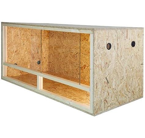 Terrario: madera Terrario para Reptiles página ventilación 80 x 40 ...
