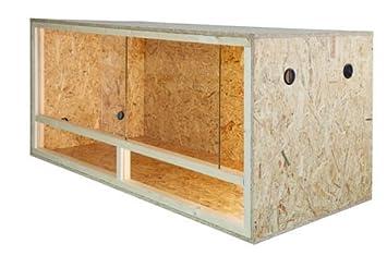 Möbel Aus Osb Platten repiterra terrarium aus holz 120cmx50cmx50cm mit seitenbelüftung aus