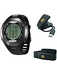 Unisex SG004-026 GPS Tour Black and Stainless Steel Digital Watch