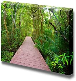 Wooden Bridge to The Jungle Tha Pom Mangrove Forest Krabi Thailand II Home Deoration Wall Decor