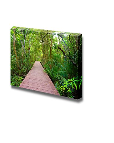 Wooden Bridge to The Jungle Tha Pom Mangrove Forest Krabi Thailand II Home Deoration Wall Decor ing