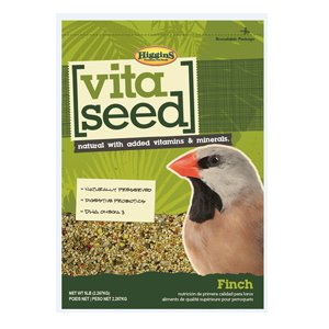 Image of Higgins 466160 Nederland'S Vita Seed Bird Food-Finch 5 Lb (1 Pack), One Size