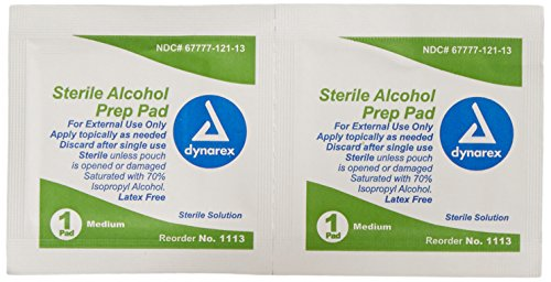 Dynarex-Alcohol-Prep-Pad-Sterile-Medium-Box-of-200