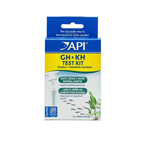 API GH & KH TEST KIT Freshwater Aquarium Water Test Kit (Api Aquarium Pharmaceuticals)