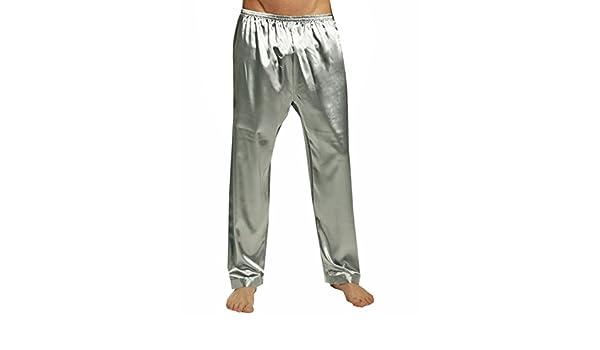 SILK MODA Big & Tall Mens Silk Pajama SleepLounge Pants
