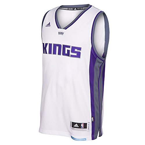 adidas Sacramento Kings NBA White Swingman Jersey For Men (L) - Kings White Jersey