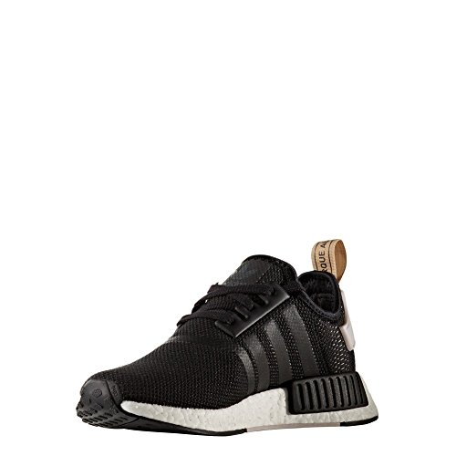 Adidas Originals Nmd_r1 Donna Running Sneakers Da Tennis Core Nero / Core Nero / Ice Purple
