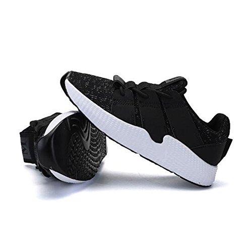 Aire De Caminar Zapatos Casuales Negro De A Libre Senderismo Zapatos ...