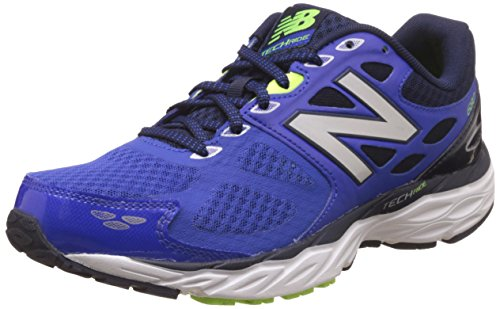 New Balance Men's 680V3 Man's Sneakers In Blue Color azul