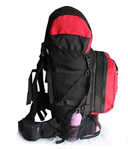 Niño bolsa de hombro bolsa de Montañismo gran capacidad al aire libre los hombres y las mujeres Camping senderismo paquete uno grande y uno pequeño dos
