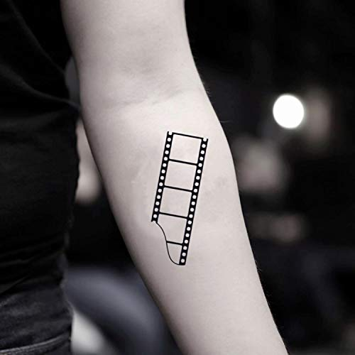 Película Etiqueta engomada Falso Temporal del Tatuaje (Juego de 2) - TOODTATTOO.COM