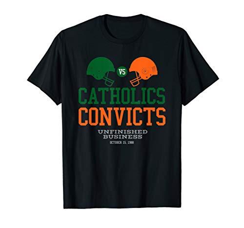 Catholics VS Convicts 1988 Classic Vintage T-Shirt