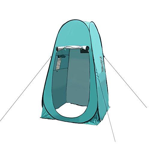 運動テンション原始的なDocooler ポップアップキャンプテント ポータブル プライバシーテント アウトドア シャワー トイレ 部屋 シェルター キャリーバッグ付き