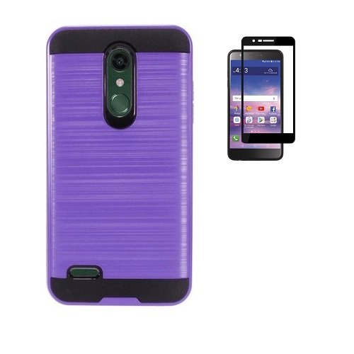 the latest b5587 b9616 LG K30 Case, Phone Case for LG Premier Pro L413DG, L413DL (Tracfone, Total  Wireless), Dual Layer Metallic Brush Finish Shockproof Protection Cover ...