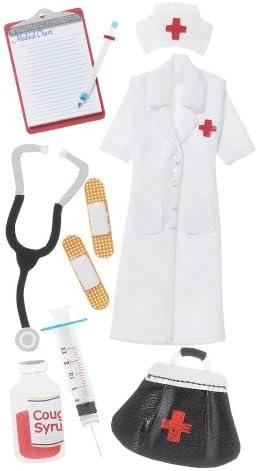 Jolees s Boutique Dimensional Stickers-Nurse, Otros, Multicolor: Amazon.es: Hogar