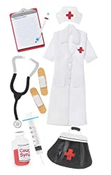 Jolee's Boutique Le Grande Dimensional Stickers, Nurse