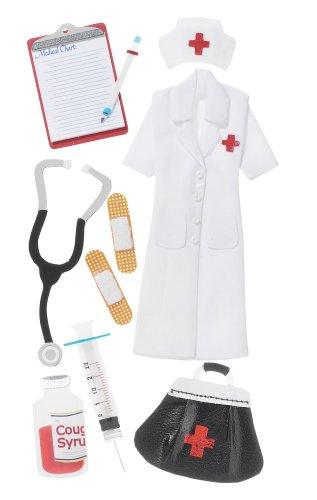 Jolee's Boutique Le Grande Dimensional Stickers, Nurse]()