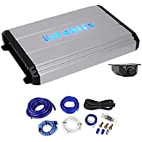 Hifonics Zeus ZXX-2400.1D 2400 Watt RMS Mono Car Amplifier+Bass Remote+Amp Kit