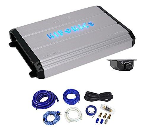 Hifonics Zeus ZXX-2400.1D 2400 Watt RMS Mono Car Amplifier+Bass Remote+Amp Kit