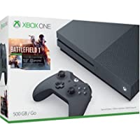 Microsoft Xbox One S 500GB Battlefield 1 Special Edition Bundle