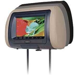 concept cls 700x headrest digital led panel car electronics. Black Bedroom Furniture Sets. Home Design Ideas